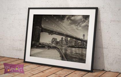 NEW YORK BRIDGE POSZTER