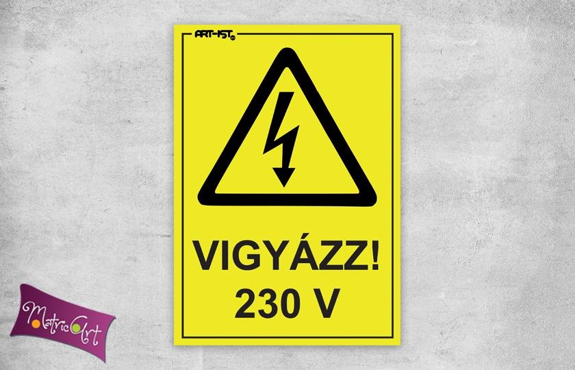magán: vigyázz 230V 2