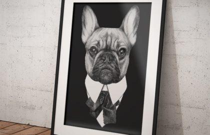 DOG IN BLACK 2 POSZTER