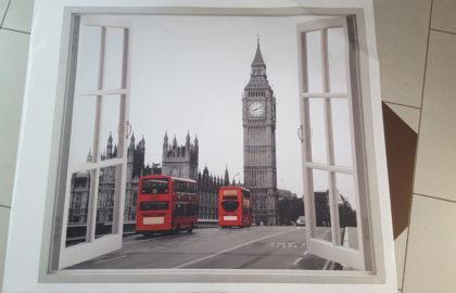 3D ABLAK LONDON (LEÉRTÉKELT)