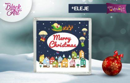 CHRISTMAS CITY ÜVEGTÉGLA